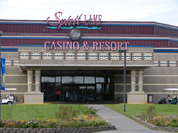 Spirit lake casino map